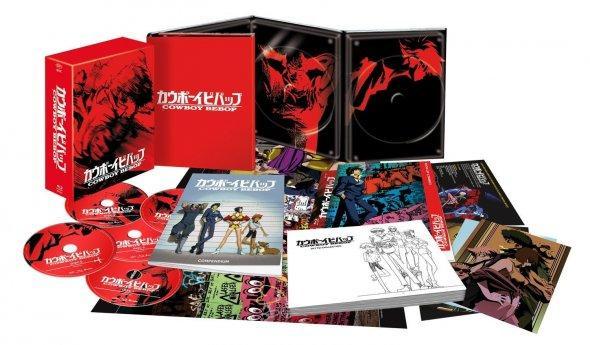 Coffret Collector limité Blu-ray Cowboy Bebop - L'intégrale