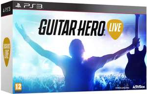 Guitar Hero Live Bundle avec guitare sur PS3