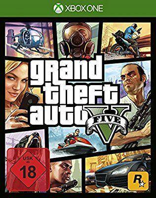 Jeu GTA V sur Xbox One et PC
