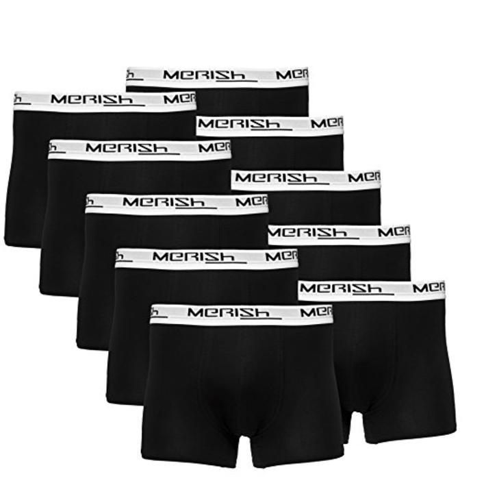 Lot de 10 boxers homme Merish - Coloris et tailles au choix
