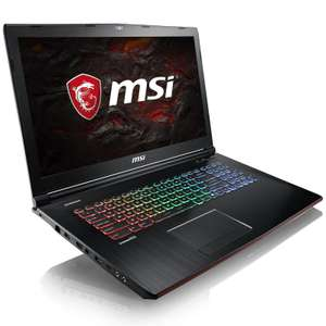 "PC portable 17,3"" MSI GE72MVR 7RG-055FR - i7-7700HQ - GeForce 1070"
