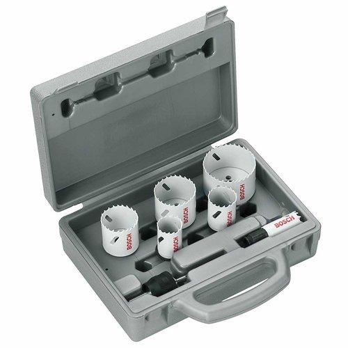 Coffret scie cloche en acier Bosch 2608584670 - 6 pièces