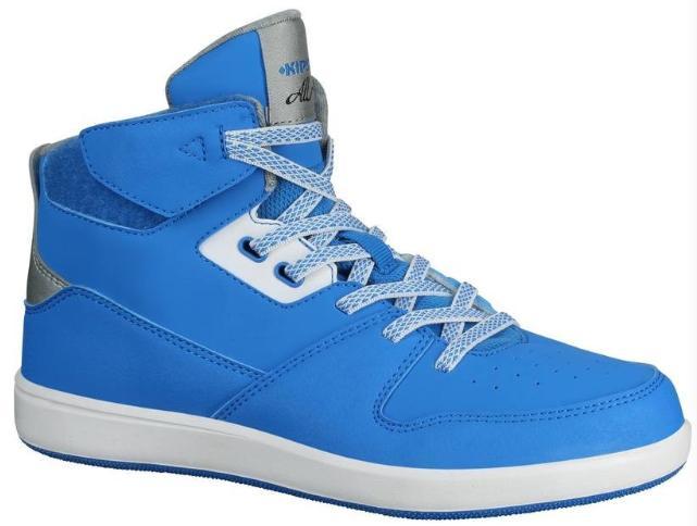 Chaussures de Basketball Kipsta Bball 500 Bleu pour Enfants - Tailles au choix