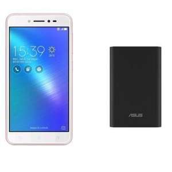 """Smartphone 5"""" Asus Zenfone Live (or) - 16 Go + Batterie Externe asus Zenpower - 10000mAh"""