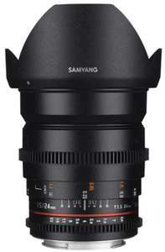 Objectif Samyang 24mm T1.5 VDSLR - Nikon