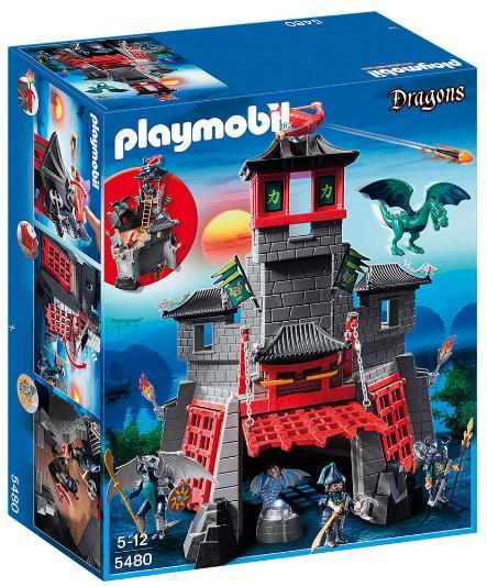Jouet Playmobil 5480  - Citadelle Secrète Du Dragon