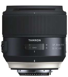 Objectif Tamron SP 35 mm f/1,8 Di VC USD - Montures Nikon/Canon/Sony