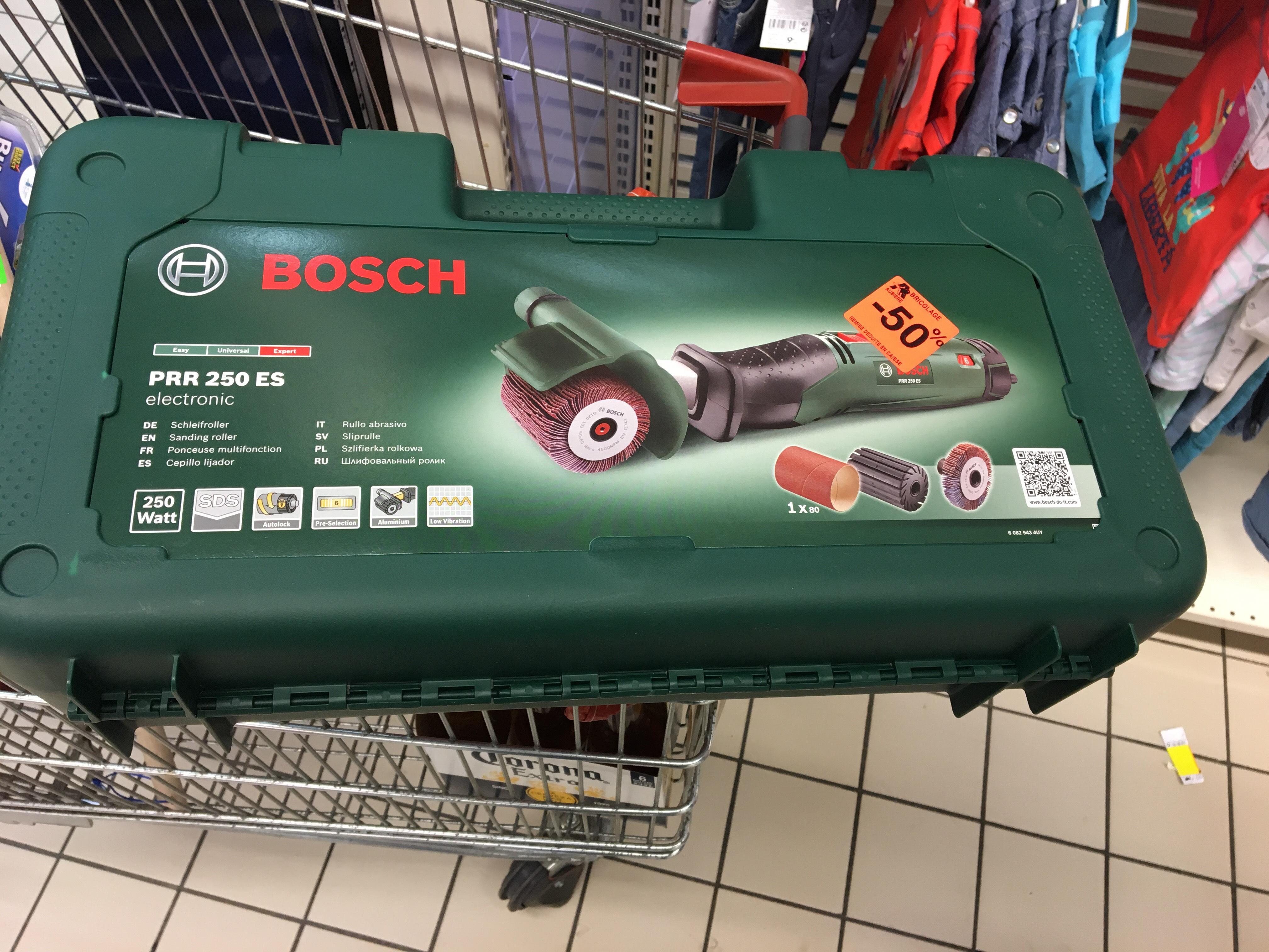 Sélection de produits Bosch en promo - Ex : Ponceuse filaire  multifonction Bosch PRR250ES