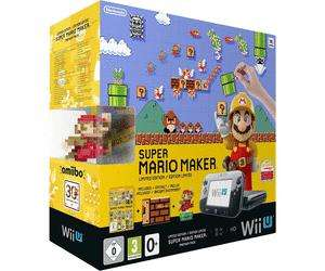 Pack console Nintendo Wii U Super Mario Maker + balance connectée Wii Fit U