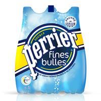 Deux packs de Perrier Fines bulles