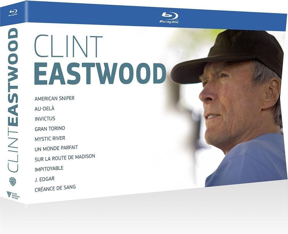 Coffret Blu-ray : Clint Eastwood, 10 films - Édition Limitée