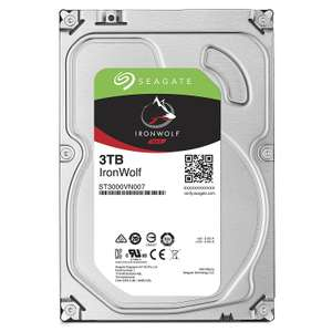 "Disque dur  interne 3.5"" Seagate IronWolf 5900trs/mn - 3 To"