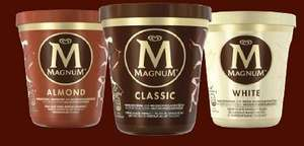 Pot de glace Magnum - 297g (via BDR)