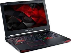 "PC Portable 15.6"" Acer Predator G9-593-79Q4 - IPS Full HD, GTX 1070, i7-7700HQ, RAM 8 Go, HDD 1 To + SSD 128 Go,"