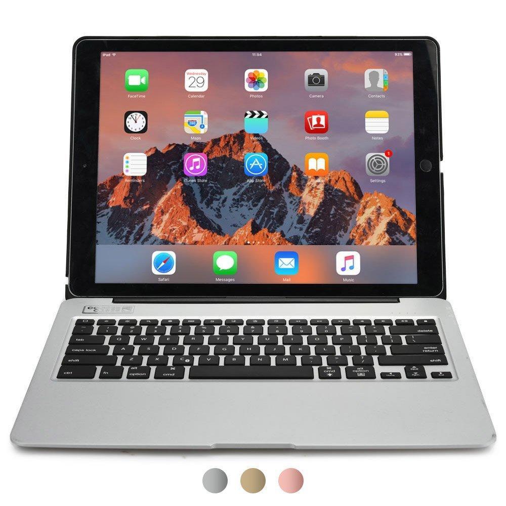 Étui avec clavier pour tablette iPad Pro 12.9 avec Batterie power bank 5800 mAh