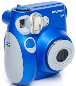 Appareil photo instantané Polaroid PIC300 bleu