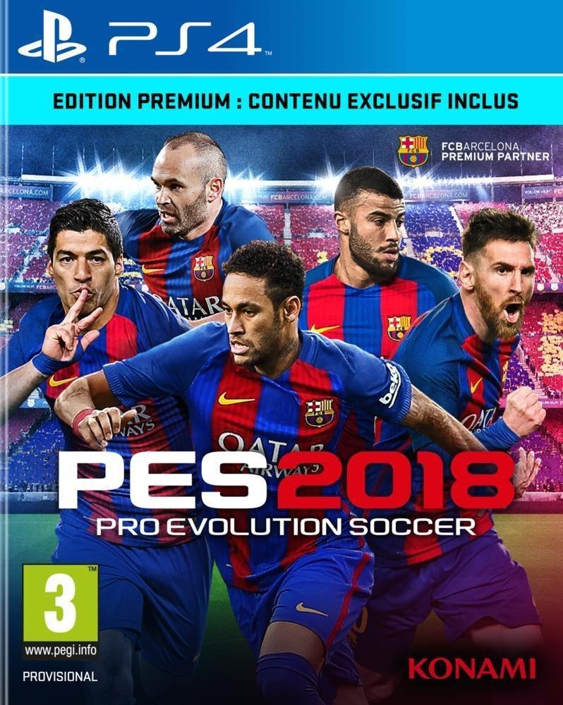 [Adhérents] Précommande : PES 2018 Edition Premium Day One sur PS4 + 20€ de chèque cadeau