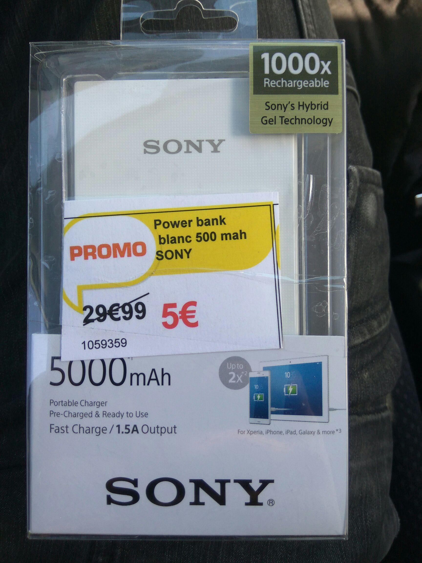 Batterie Externe Sony - 5000mah