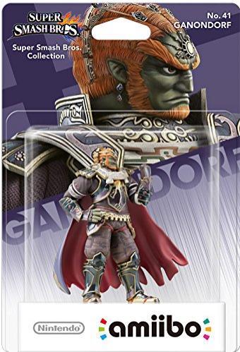 Sélection de figurines Nintendo Amiibo en promotion - Ex : Figurine Amiibo Ganondorf
