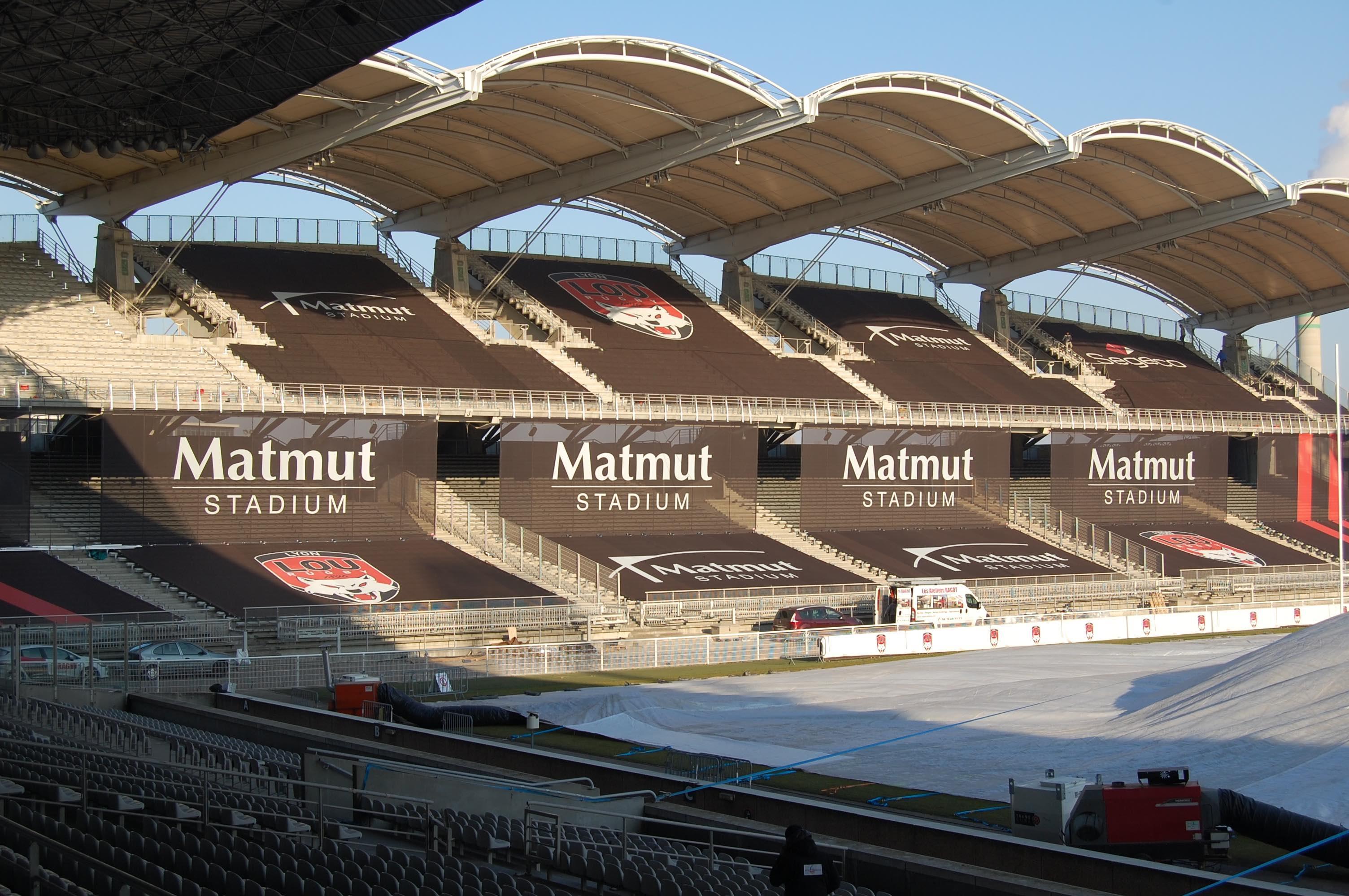 Visite guidée gratuite du Matmut Stadium Gerland + Barbecue offert