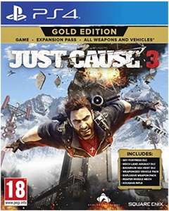Jeu Just Cause 3 sur PS4 - Gold edition