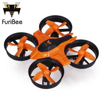Drone Quadricoptère RC FuriBee F36 Orange / Noir - 2.4 GHz, 4CH, 6 Axis