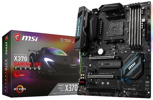 Carte-mère  MSI X370 Gaming Pro Carbon AMD ATX - Socket AM4