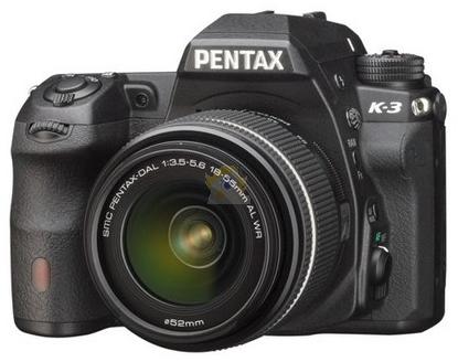 Reflex Pentax K3 + Objectif 18-55mm WR