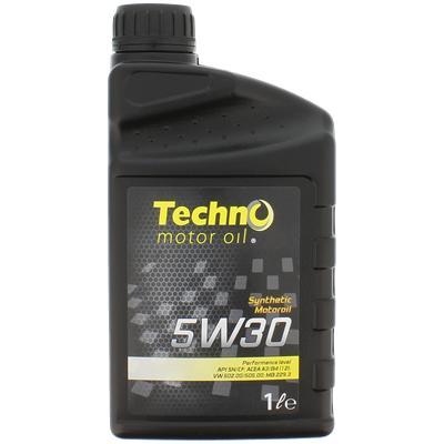 Sélection d'huiles moteur en promotion - Ex : Techno 5W30 ou 5W40