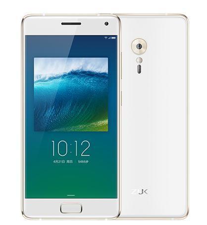 "Smartphone 5.2"" Lenovo ZUK Z2 Pro Blanc - Full HD, Snapdragon 820, RAM 6 Go, ROM 128 Go (Avec B20)"