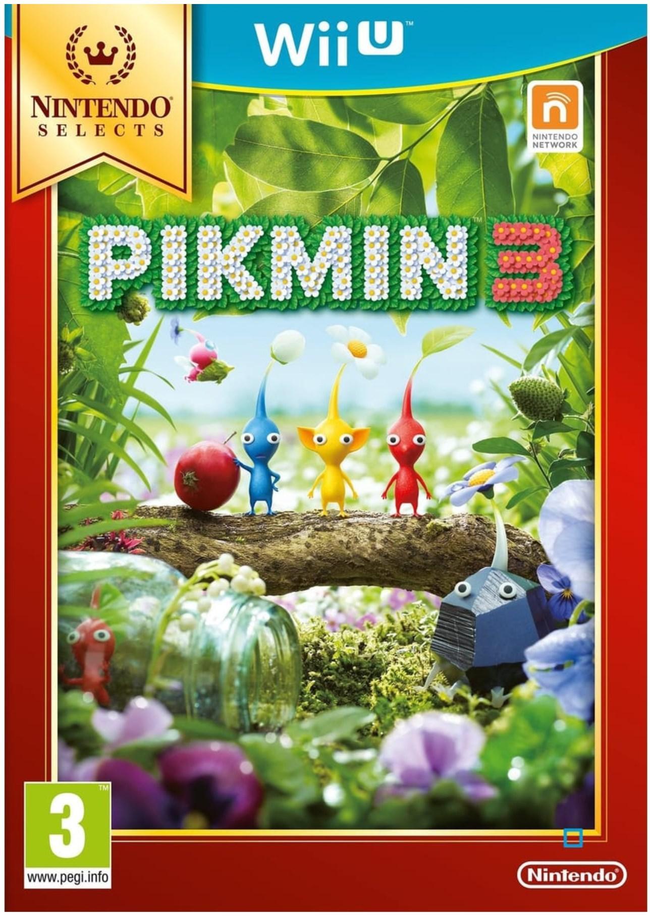 Jeu Pikmin 3 sur Nintendo Wii U