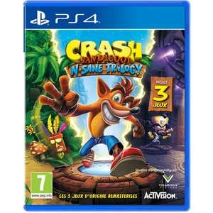 Crash Bandicoot N'sane Trilogy sur PS4