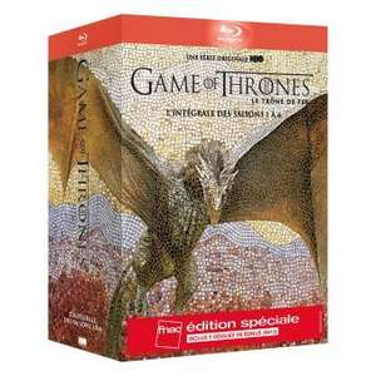 Coffret Blu-ray : Game of Thrones Intégrale des saisons 1 à 6