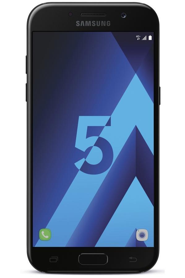 Smartphone Samsung Galaxy A5 2017 (plusieurs coloris) + Carte SDXC Samsung Evo Plus 64 Go (Via reprise en Clic&Collect + ODR de 50€)