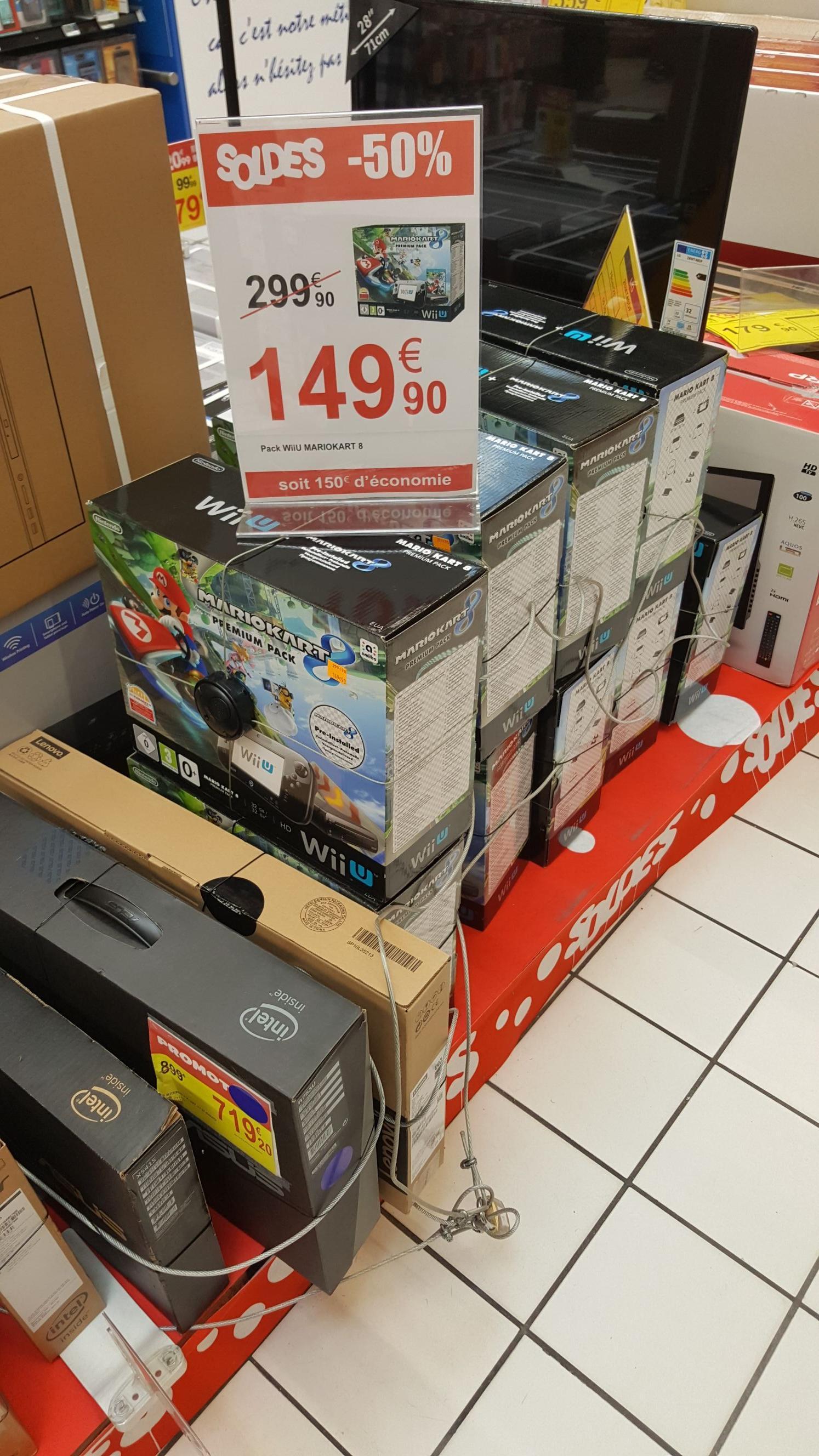 Pack Wii U 32 Go + Mario Kart 8