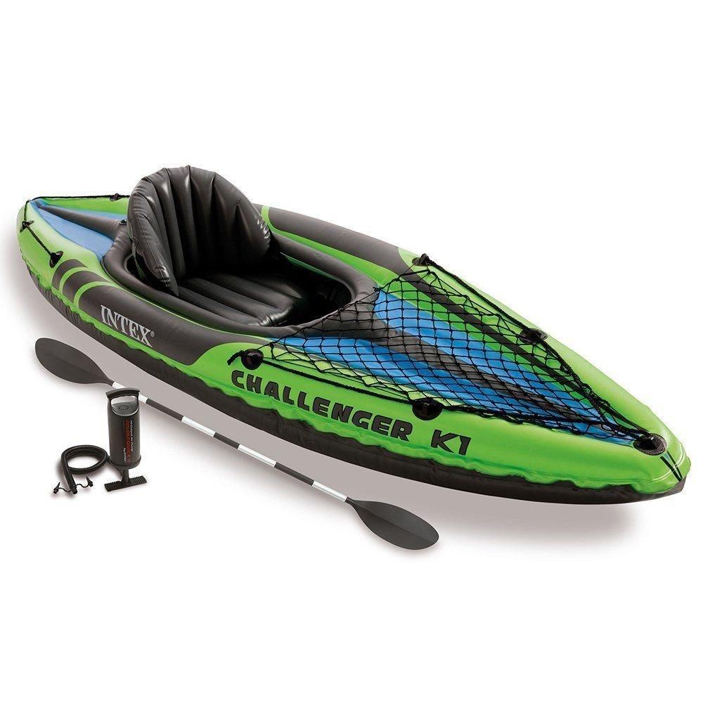 [Premium] Kayak gonflable Intex K1 Challenger - 1 personne, 274 cm x 76 cm