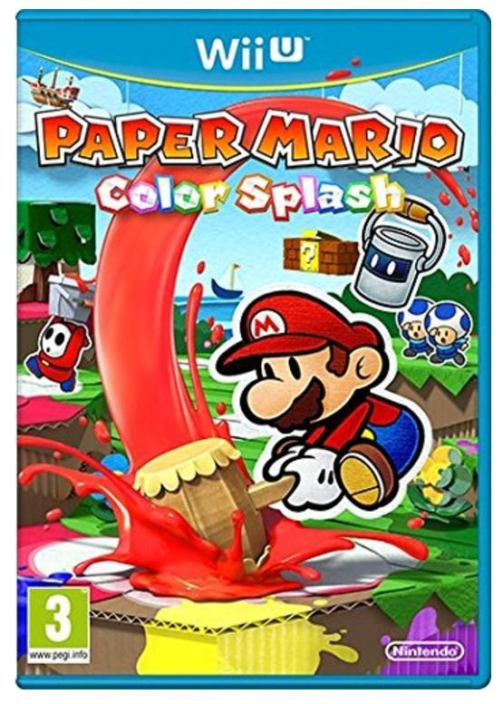 Jeu Paper mario sur Nintendo WII U