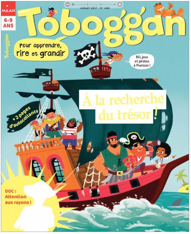Abonnement d'un an au magazine Toboggan