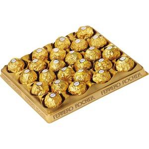 3 boites Ferrero Rocher (300g soit 24 ferreros)