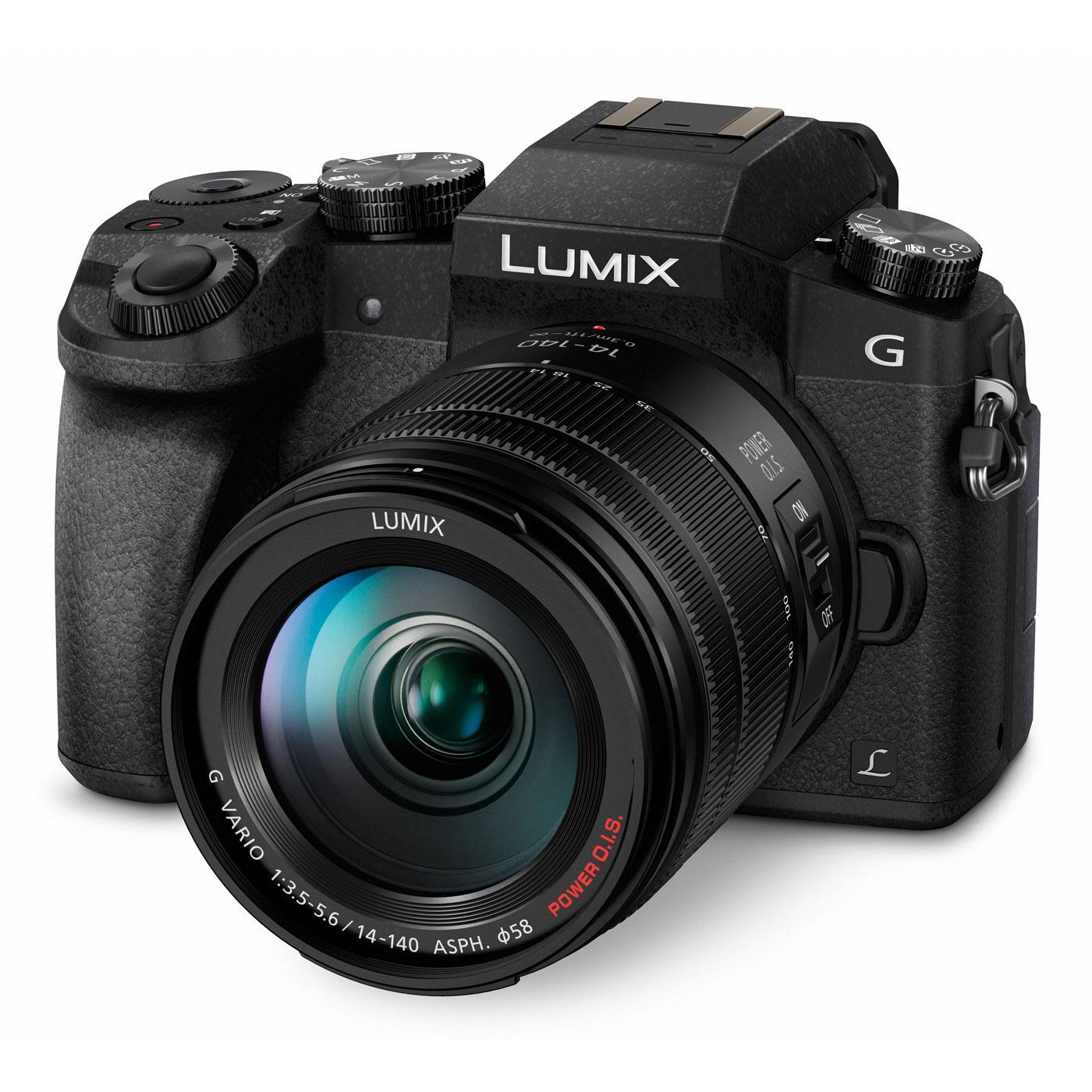 Appareil Photo Panasonic Lumix DMC-G7KEF + Objectif 14-140 mm