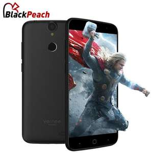 "Smartphone 5.0"" Vernee Thor (Coloris au choix) - HD, MTK6753, RAM 3Go, 16Go, Android 6.0, 4G (B20)"