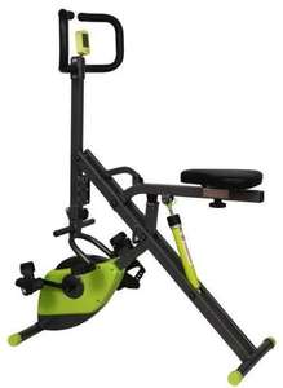 Vélo d'appartement Ofitness Xbike Rider Noir / Vert - 130 x 58 x 98cm
