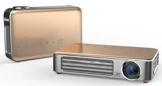 Vidéoprojecteur LED Vivitek Qumi Q6 Or compatible 3D - HD, HDMI / MHL