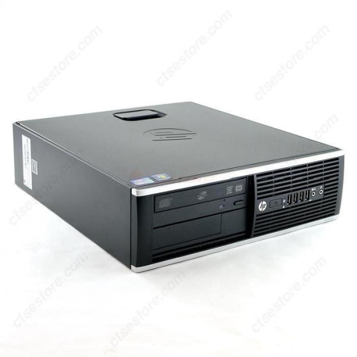 PC Fixe HP Elite 8300 SFF - i5-3470, RAM 8Go, 250Go, Intel HD Graphics 4000, Windows 10  Famille 64Bits (Occasion - Bon état)