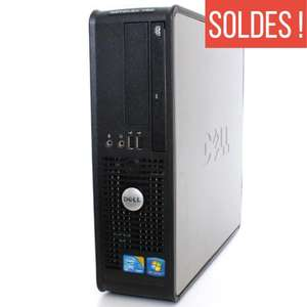 Séléction d'ordinateurs reconditionnés en promo - Ex : Dell Optiplex 780 SFF - (Core 2 Duo CPU E8500 - 3.16GHz,  4 Go RAM,  160 Go HDD,  DVD-RW - Windows 10)