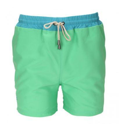 Short de bain vert avec ceinture - Taille L à XXL