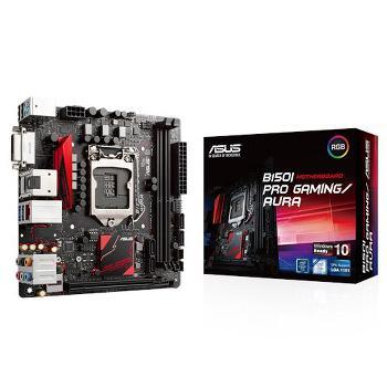 Séléction de Cartes Mères En promotion Ex : Carte mère Asus B150I Pro Gaming/Aura - Mini ITX +  Everspace offert