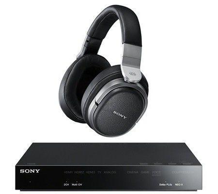 Casque Hi-Fi Circum Aural sans fil Sony MDR-HW700DS - Surround 9.1