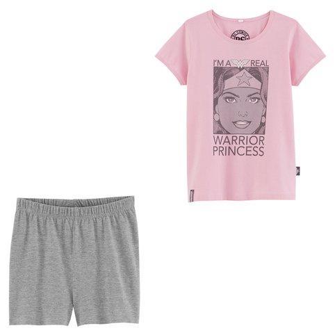 Sélection de pyjamas pour enfants en promotion avec livraison gratuite - Ex : Pyjacourt fille imprimé Wonder Woman