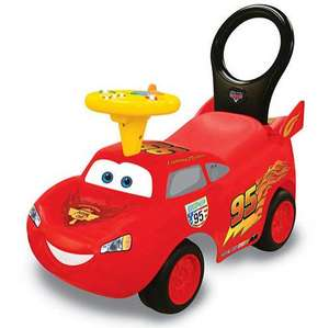 Porteur Kiddieland Cars 043067 - Flash McQueen